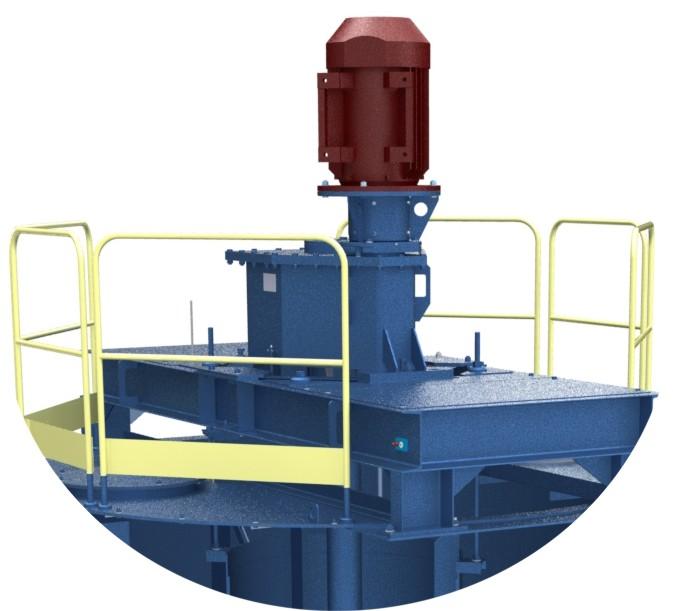 Исполнение с цилиндрическим или коническим мотор-редуктором